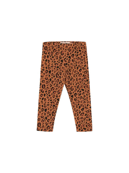 Animal print - pants - brown/dark brown