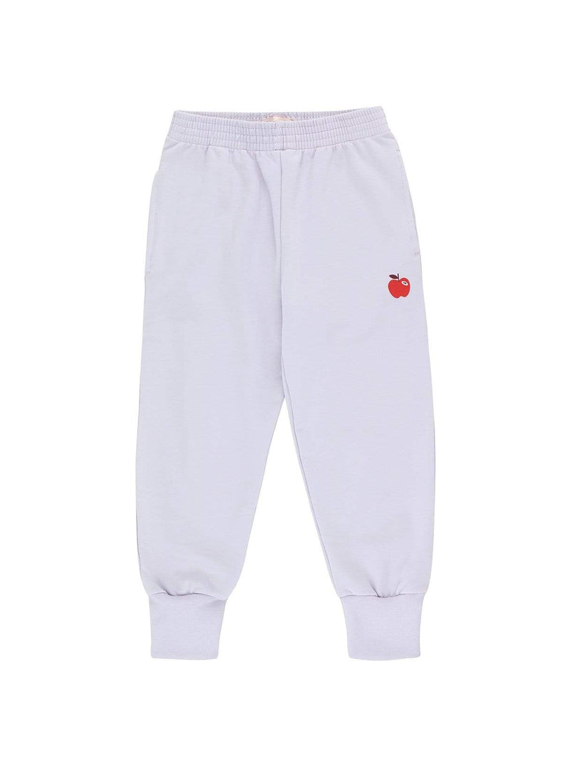 Tinycottons baby Apple - sweat pants - light lilac/burgundy