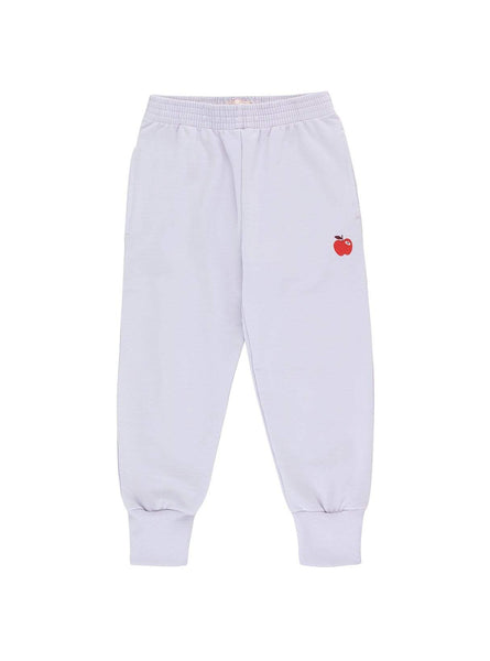 Apple - sweat pants - light lilac/burgundy