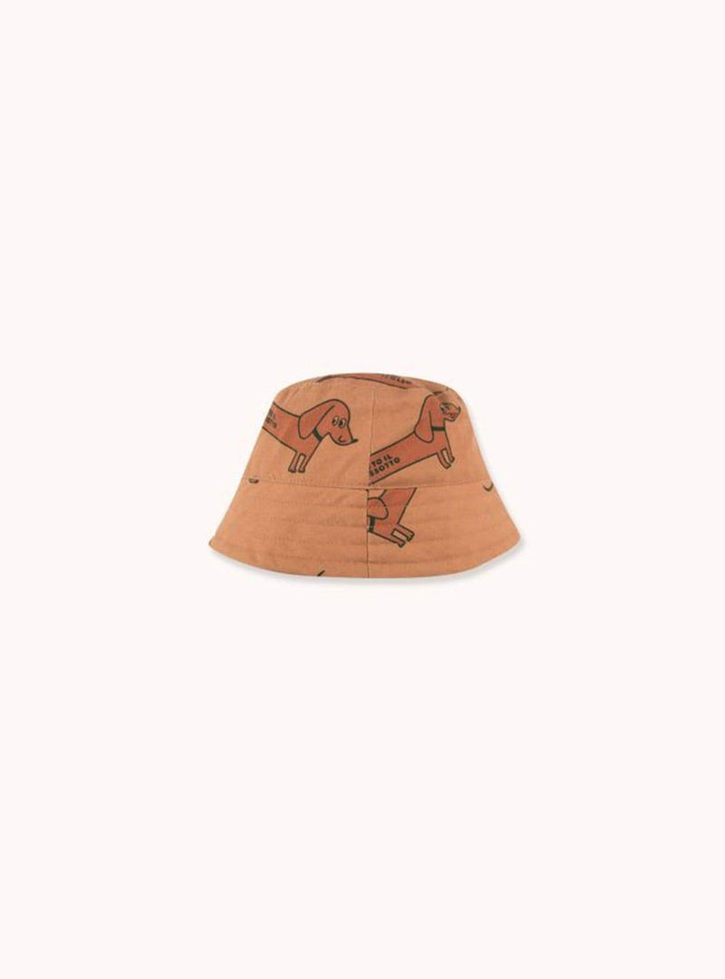 Il bassotto - bucket hat - tan/cinnamon
