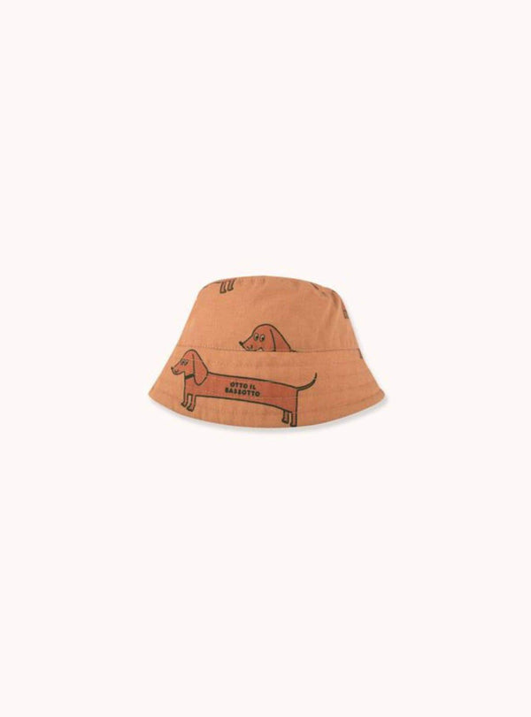 tinycottons Kids accessories Il bassotto - bucket hat - tan/cinnamon