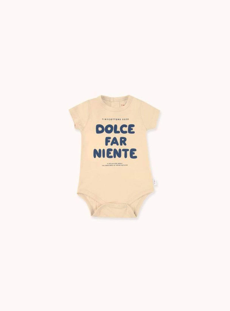 Dolce far niente - bodysuit - cappuccino/light grey