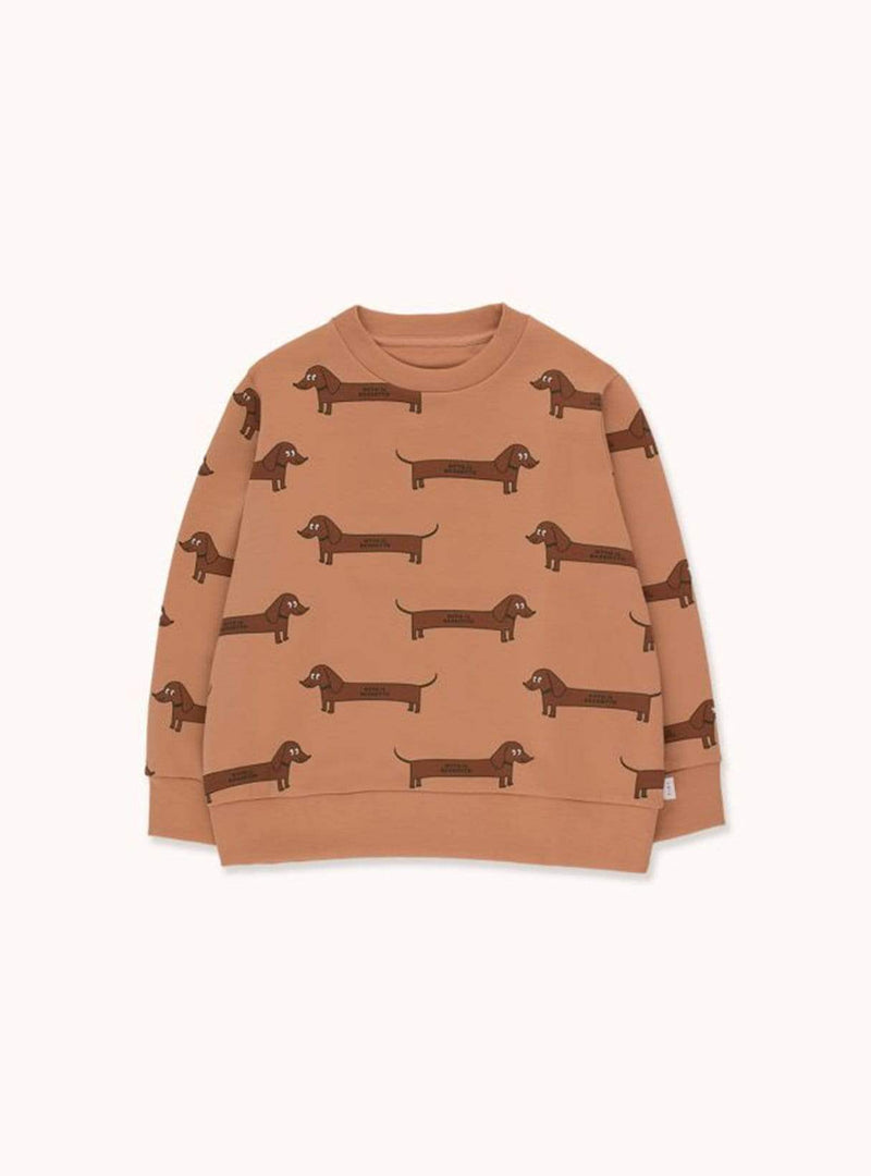 Il bassatto - sweatshirt - tan/dark brown