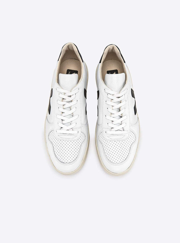 VEJA shoes Leather sneaker - white/black