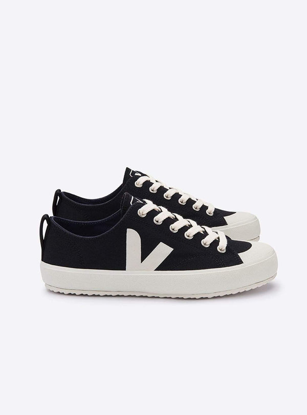 VEJA Womens shoes Nova canvas sneaker - black/pierre