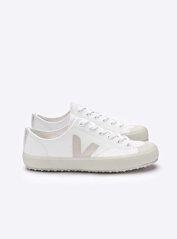 VEJA Womens shoes Nova canvas sneaker - white/pierre