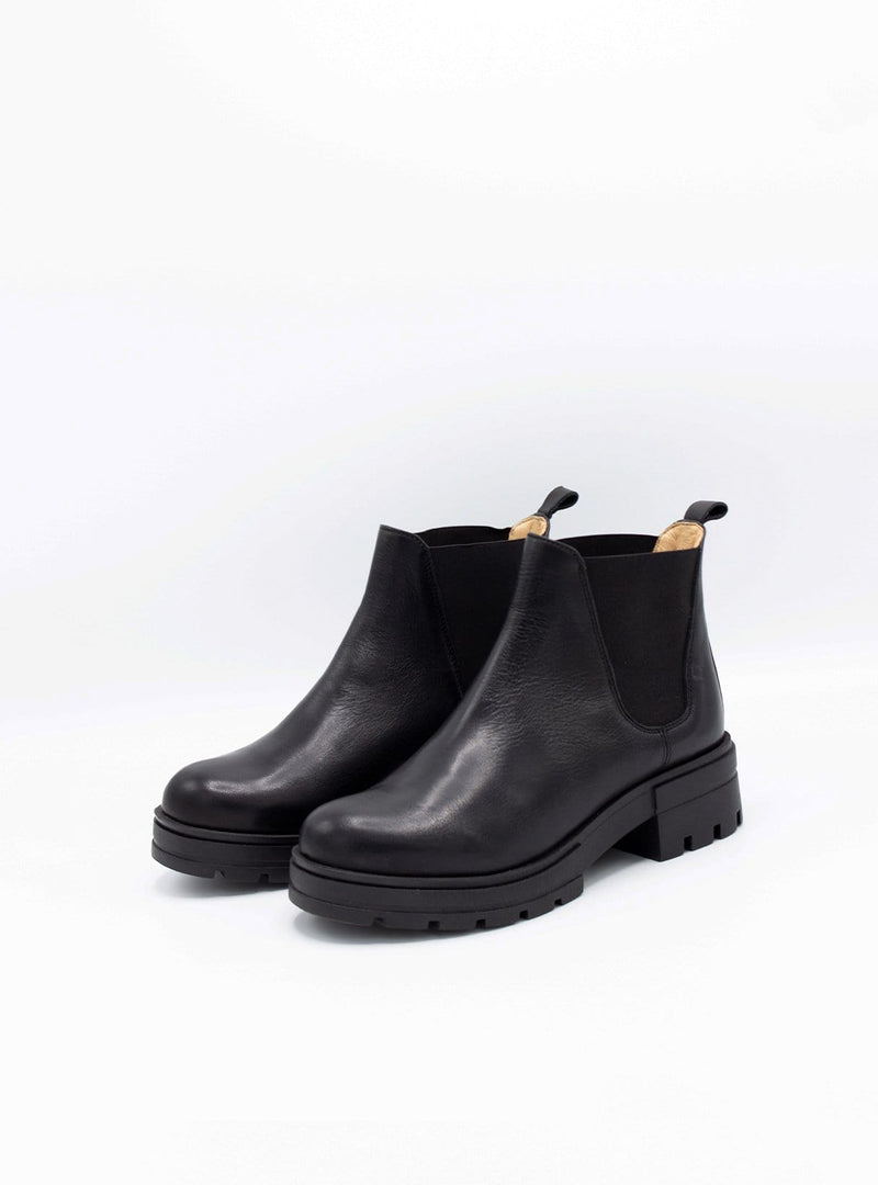 werner Womens shoes Chelsea boot - black