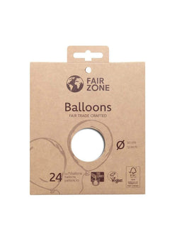 zero waste Zero waste Balloons - 24 pieces - white