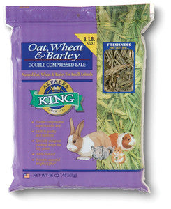 Alfalfa King Oat, Wheat & Barley (No ziplock)