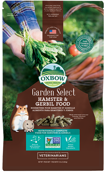 LAUNCH PROMO - Oxbow Garden Select - Hamster or Gerbil (No Alien$)
