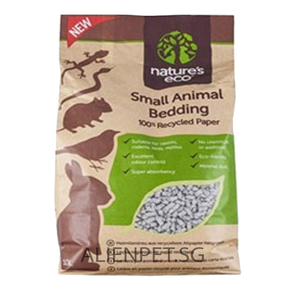 TIME SALES - 4 BAGS of Nature's Eco Small Animal Bedding 30L (No Alien$) Delivery within 10 working days