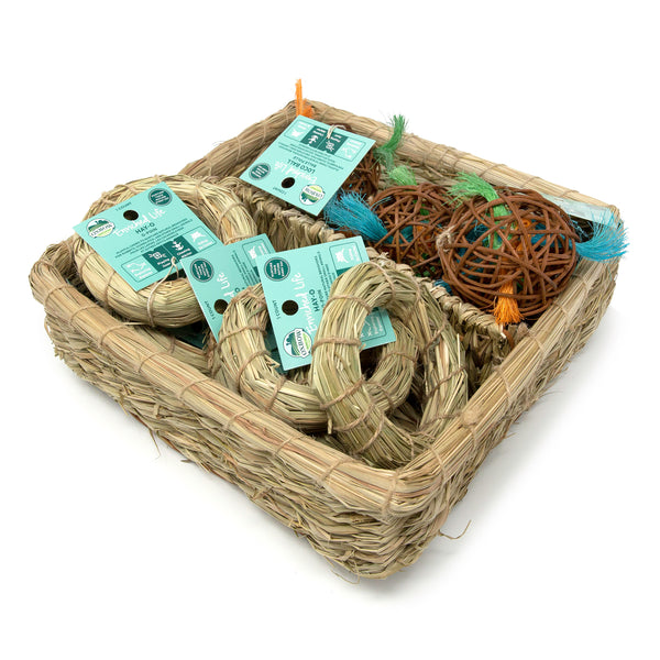 Oxbow Enriched Life Hay-O & Loco Ball Basket