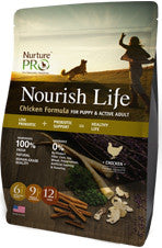 Nurture Pro Nourish Life Chicken Formula (For Puppy & Active Adult)