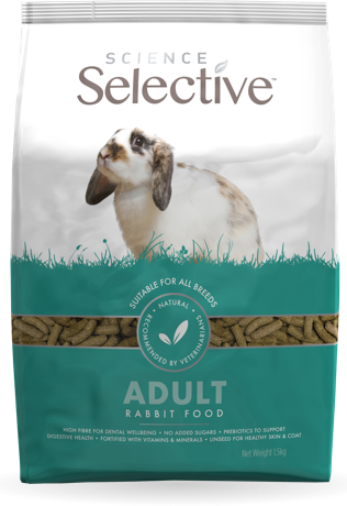 Selective Science Adult Rabbit 4lb (no Alien$)