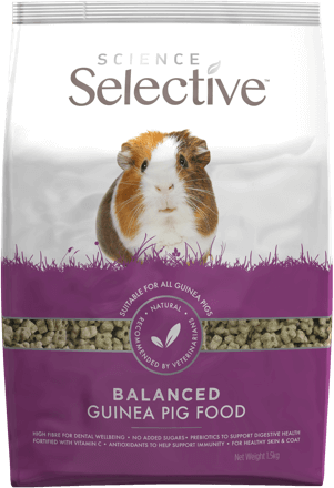 Selective Science Guinea Pig 4.4lb (no Alien$)