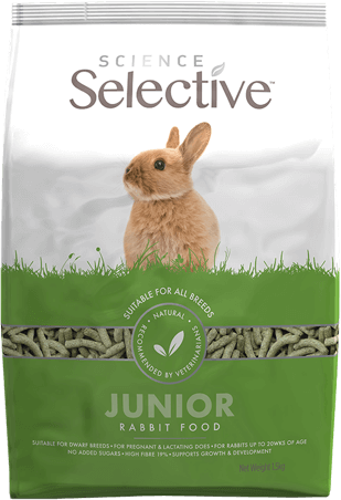 Selective Science Junior Rabbit 4.4lb (no Alien$)