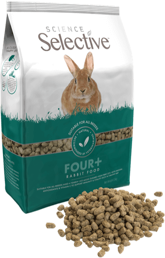 Selective Science Mature Rabbit 4+   (4.4lb) (no Alien$)