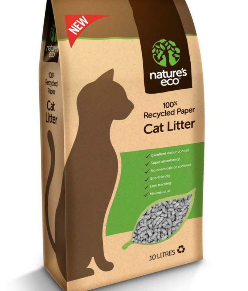 TIME SALES - 4 BAGS of Nature's Eco CAT litter 30L (No Alien$) Delivery within 10 working days