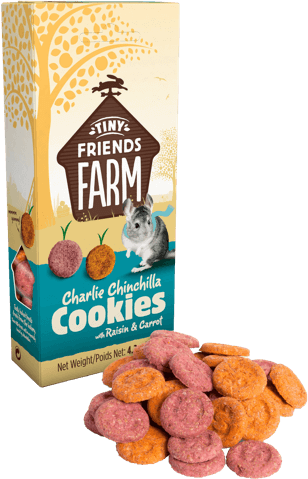 Tiny Friends Farm - Charlie Chinchilla Cookies (No Alien$)