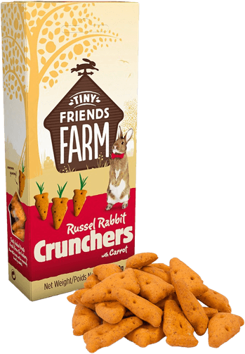 Tiny Friends Farm - Russel Rabbit Crunchers (No Alien$)
