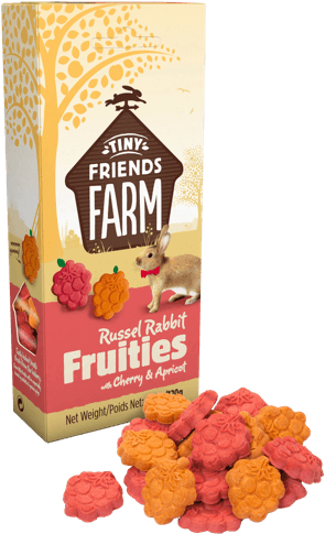 Tiny Friends Farm - Russel Rabbit Fruities (No Alien$)