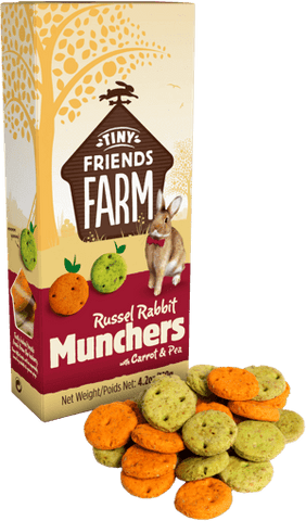 Tiny Friends Farm - Russel Rabbit Munchers (No Alien$)