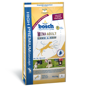 Bosch High Premium Mini - Adult Lamb & Rice