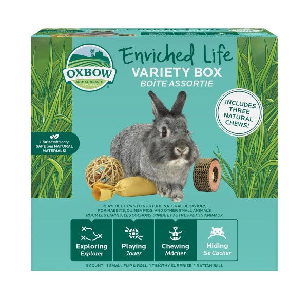 PROMO! Oxbow Enriched Life Variety Box (No Alien$)