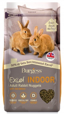 Burgess Indoor Rabbit Nuggets