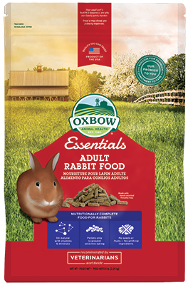Oxbow Adult Rabbit Food - 10lbs (Donation)