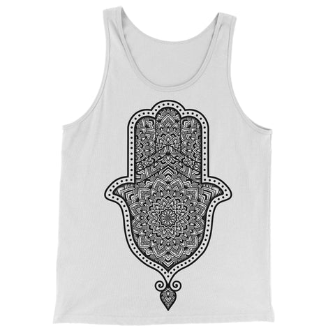 Killing Tree Hamsa - White Vest