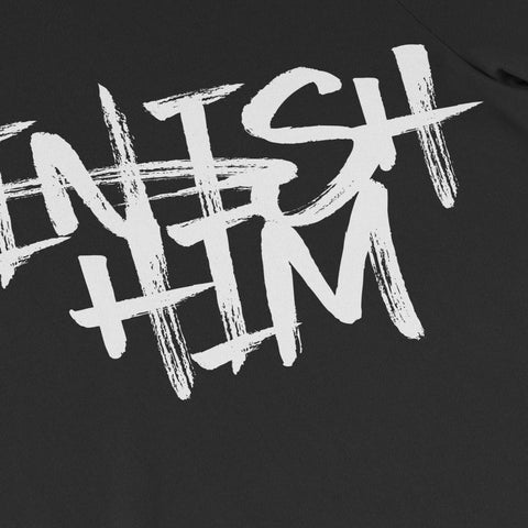 Finish Him - Black Tee