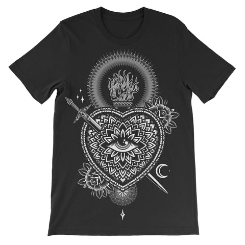 Heartache - Black tee