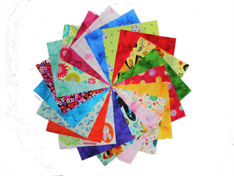 40 5 inch Quilting Fabric Squares Disney Frozen Charm Pack//Licensed//Prints