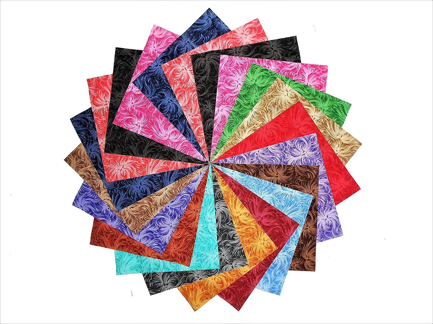 quilt new parade fq cotton itm quilting sewing patchwork fabric peacock material