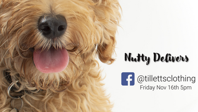 """Leading Man Demands More Dog Treats!!"" #NuttyDelivers"