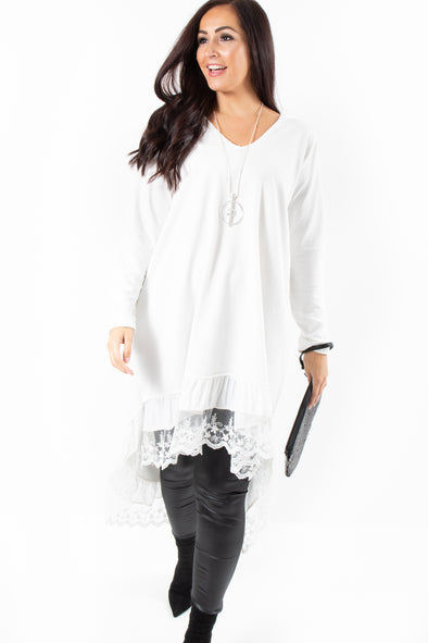 Veronica Lace Tunic