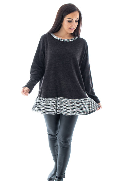 Tess Frill Top - Tilletts Clothing