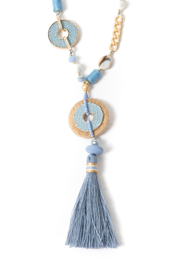 Charlie Chain and Tassel Necklace