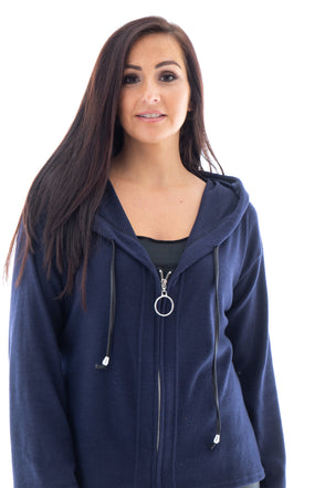 Zoe Zip Hoodie - Tilletts Clothing (4184964890737)