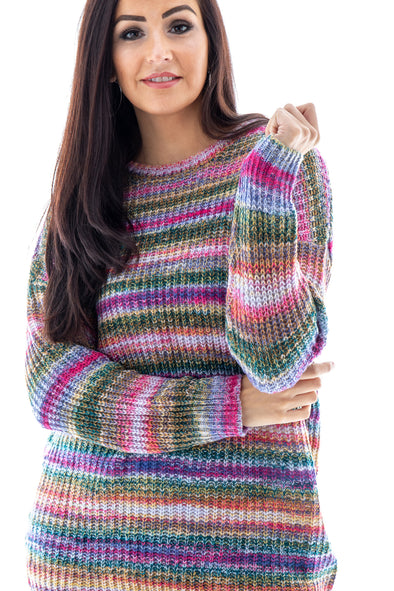 Holly Stripe Jumper