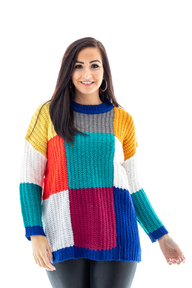 Carris Colour Block Jumper