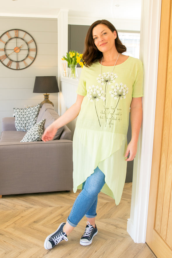 Fiona Flower Tunic