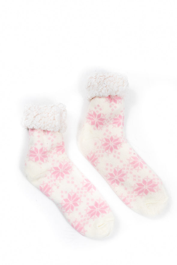 Snowflake Cosy Toes - Tilletts Clothing (4258358362225)