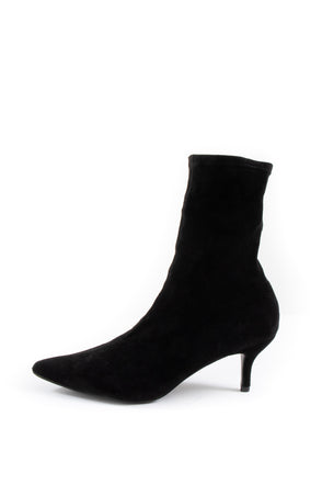 Kat Kitten Heel Boots - Tilletts Clothing (4308552712305)