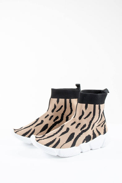 Animal Sock Trainers - Tilletts Clothing (4293016944753)