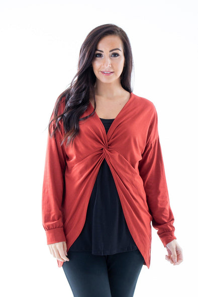 Arabella Twist Top - Tilletts Clothing (4259891609713)