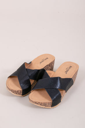 Myla Wedge - Black