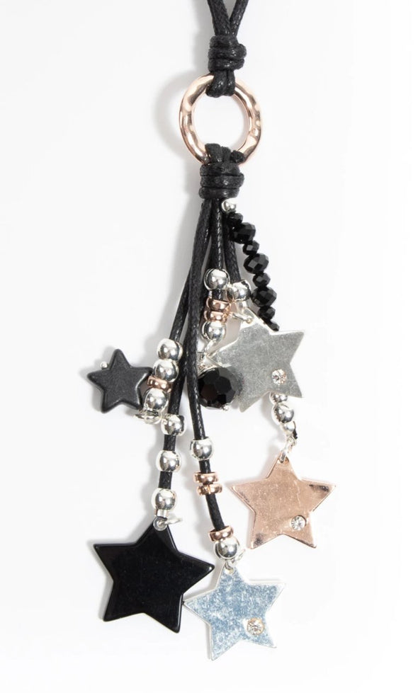Sara Star Necklace - Tilletts Clothing (4309476212849)