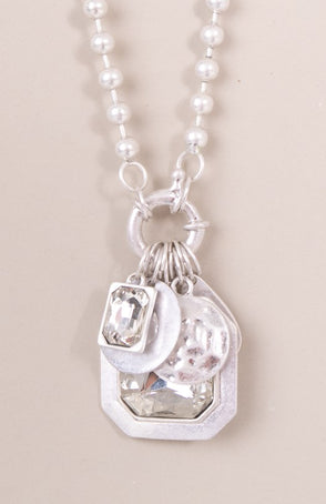 Double Gem Necklace